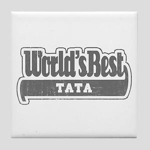 WB Grandpa [Telugu] Tile Coaster